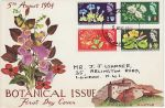 1964-08-05 Botanical Congress Stamps LONDON WC FDC (74289)
