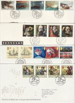 1992 Bulk Buy x8 Bureau FDC from 1992 (74349)