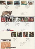 1992 Bulk Buy x9 First Day Covers With Special Pmks (74350)