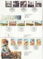 1994 Bulk Buy x9 FDC from 1994 Bureau Pmks (74354)