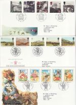 1994 Bulk Buy x9 First Day Covers With Special Pmks (74355)
