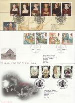 1997 Bulk Buy x9 FDC From 1997 With Special Pmk's (74358)