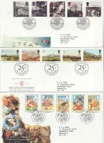 1994 Bulk Buy x9 Bureau FDC from 1994 (75135)