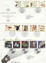1996 Bulk Buy x9 FDC From 1996 Bureau Pmks (75137)