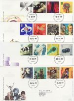 1999 Bulk Buy x12 Millennium From 1999 Bureau FDC (75228)