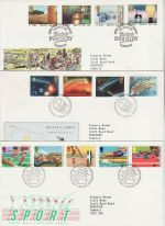 1986 Bulk Buy x6 Bureau FDC from 1986 (75326)