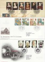 1997 Bulk Buy x9 FDC From 1997 With Bureau Pmk (75451)
