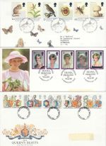 1998 Bulk Buy x10 FDC from 1998 Mixed Pmks (75453)