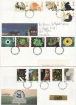 1995 Bulk Buy x9 FDI Postmarks FDC From 1995 (75455)