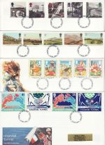 1994 Bulk Buy x8 First Day Covers With fdi Pmks (75456)