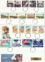 1994 Bulk Buy x8 First Day Covers With fdi Pmks (75457)