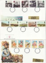 1994 Bulk Buy x6 First Day Covers With fdi Pmks (75458)