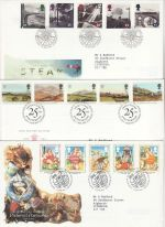 1994 Bulk Buy x9 First Day Covers With Bureau Pmks (75459)