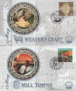 1999-05-04 Workers Tale Stamps x4 Benham Silk FDC (75590)