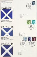 1970's Bulk Buy x9 Regional Definitive FDC (75601)