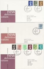 1970's Bulk Buy x8 Definitive Issue FDC (75602)