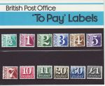 1977 To Pay Stamps Presentation Pack 93 (75764)