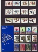 1978 British Mint Stamps Collectors Pack 1978 (75770)