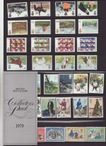 1979 British Mint Stamps Collectors Pack 1979 (75771)