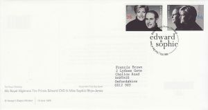 1999-06-15 Royal Wedding Stamps Windsor FDC (76530)