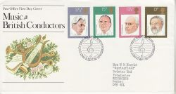 1980-09-10 British Conductors Stamps Bureau FDC (76544)