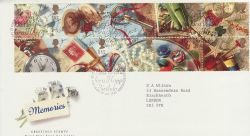 1992-01-28 Greetings Stamps Bureau FDC (76555)