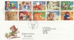 1994-02-01 Greetings Stamps Bureau FDC (76557)