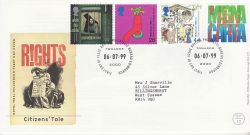 1999-07-06 Citizens Tale Stamps Bureau FDC (76587)