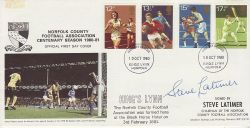 1980-10-10 Sport Norfolk County Football Signed FDC (76651)