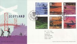 2003-07-15 Scotland A British Journey T/House FDC (76669)