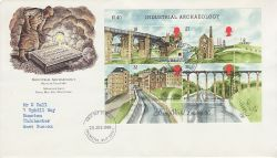 1989-07-25 Industrial Archaeology M/S Chichester FDC (76673)