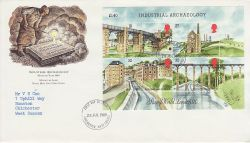 1989-07-25 Industrial Archaeology M/S Chichester FDC (76674)