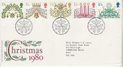 1980-11-19 Christmas Stamps Bethlehem FDC (76704)