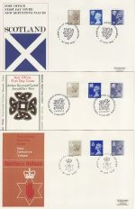 1983-04-27 Regional Definitive x3 SHS FDC (76078)