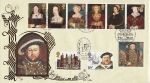 1997-01-21 King Henry VIII Hampton Court Benham FDC (76264)
