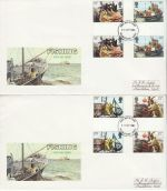 1981-09-23 Fishing Industry Gutters Maidstone x2 FDC (76401)