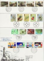 1985 Bulk Buy x8 Bureau FDC From 1985 (76430)