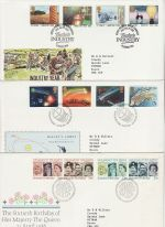 1986 Bulk Buy x11 FDC From 1986 Bureau Pmks (76445)