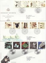 1996 Bulk Buy x9 FDC From 1996 Bureau Pmks (76469)