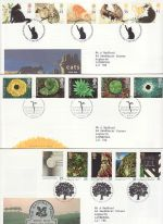 1995 Bulk Buy x9 FDC From 1995 Bureau Pmk's (76475)
