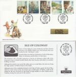 1997-09-09 Enid Blyton Stamps Isle of Colonsay FDC (76515)