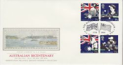 1988-06-21 Australian Bicentenary Stamps London SW1 (77099)