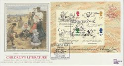 1988-09-27 Edward Lear M/S Stamps London SW FDC (77102)