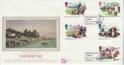 1994-08-02 Summertime Stamps Isle of Wight FDC (77129)