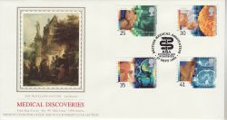 1994-09-27 Medical Discoveries Stamps Worcester FDC (77130)