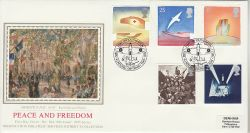 1995-05-02 Peace and Freedom Stamps Southampton FDC (77136)