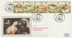 1995-08-08 Shakespeare Stamps Stratford FDC (77139)