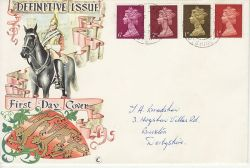 1968-02-05 Definitive Stamps cds FDC (77249)