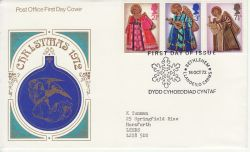 1972-10-18 Christmas Stamps Bethlehem FDC (77388)