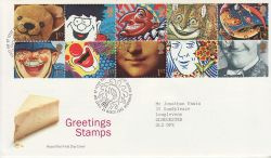 1991-03-26 Greetings Stamps Bureau FDC (77406)